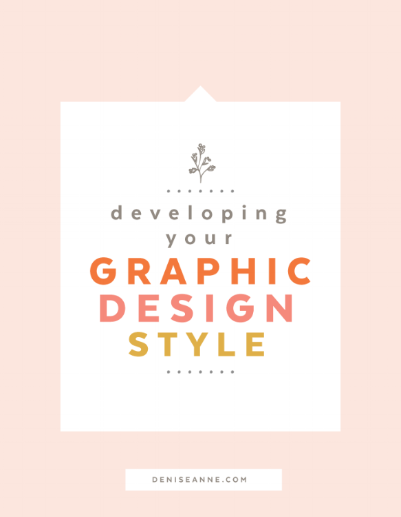 developing your graphic design style