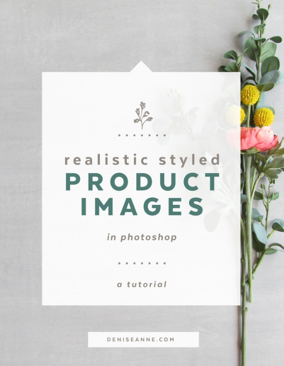 Realistic Styled Product Images in Photoshop