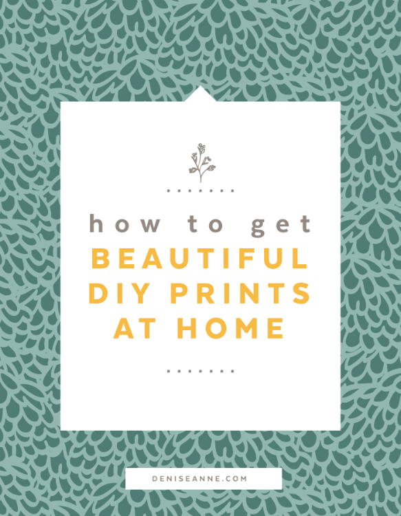 How to Get Beautiful DIY Art Prints and printables at Home