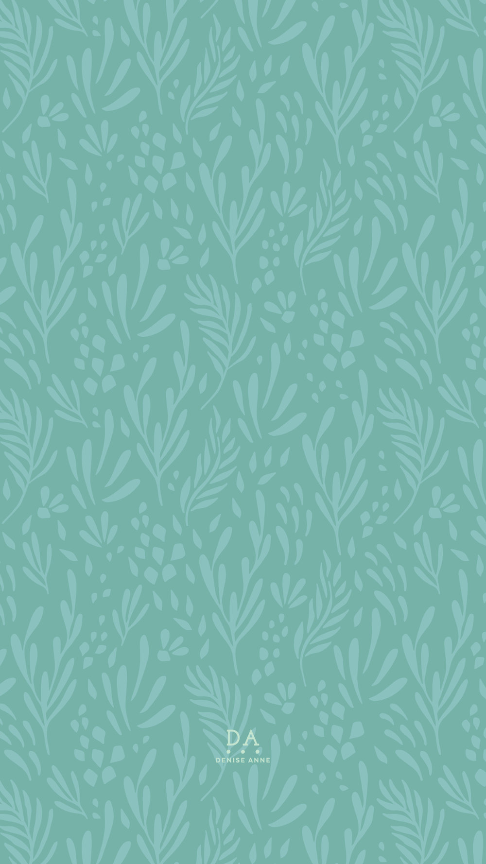 Turquoise Greenery - click for download links