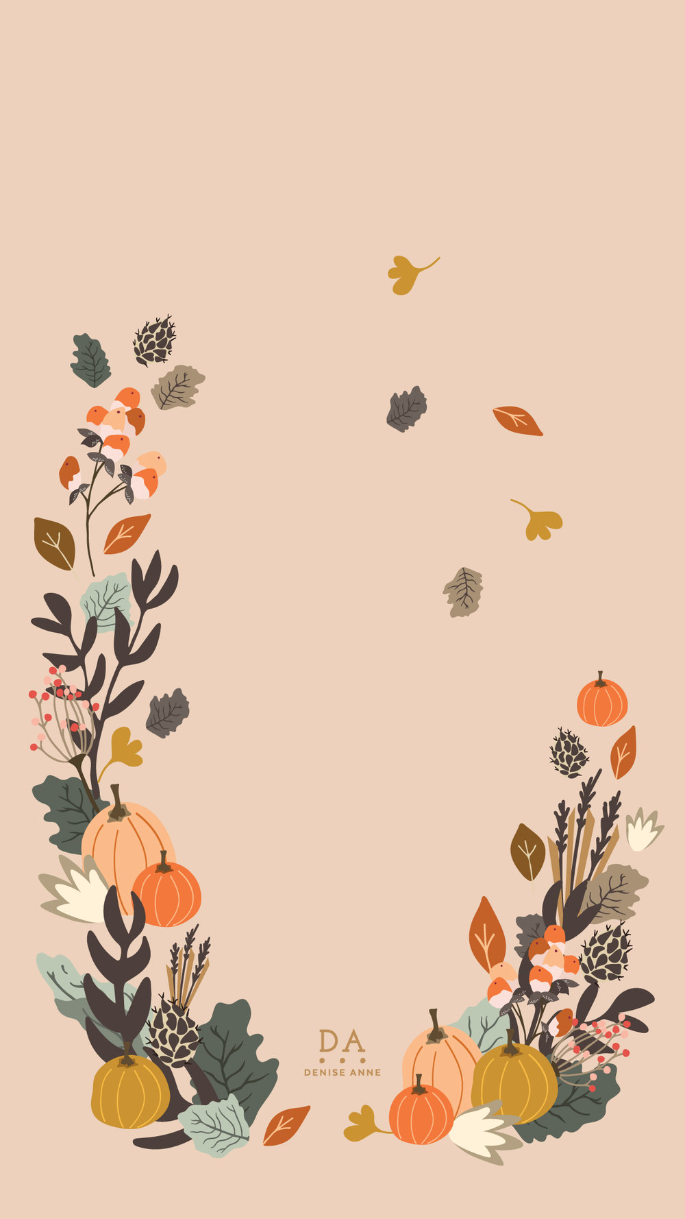 Fall Florals - Click for download links