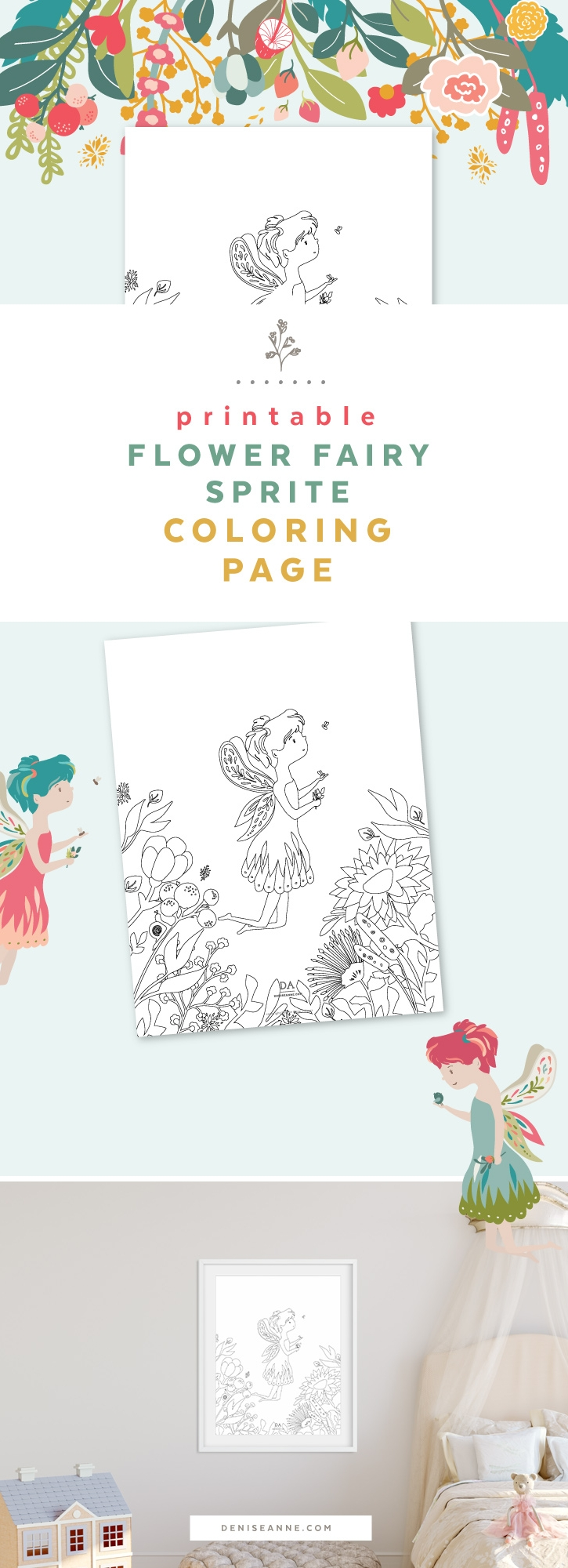 free-printable-flower-fairy-sprite-coloring-page