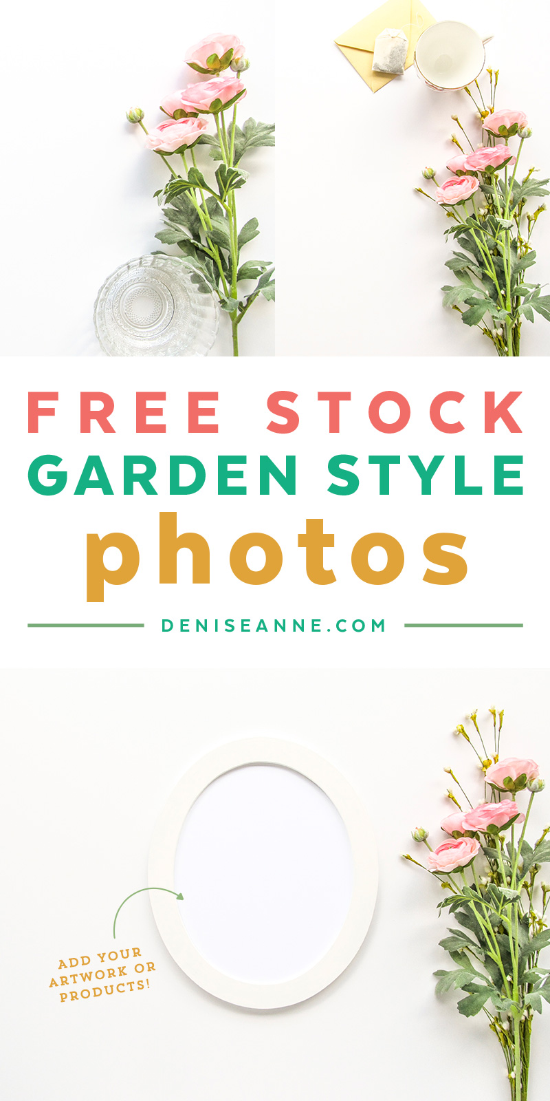 Get these styled stock photography backgrounds for promoting your products and artwork.