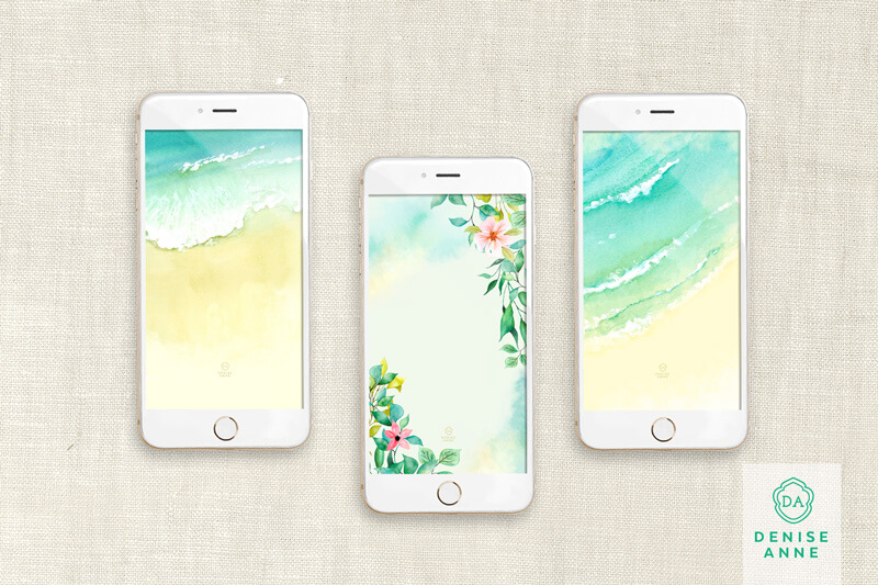 Summer tech phone wallpapers