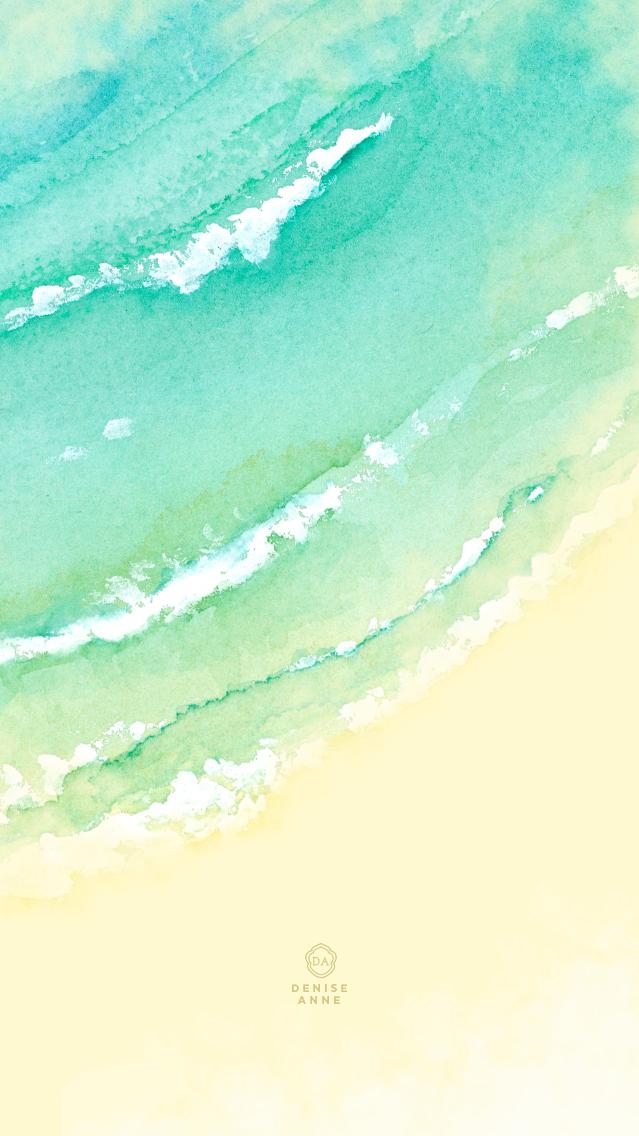 Watercolor Ocean - Click for download links