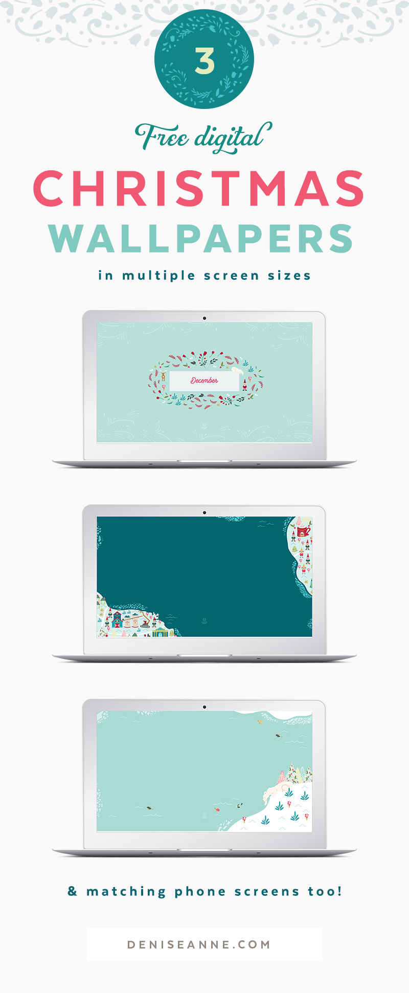 Free Christmas Desktop Wallpaper Backgrounds
