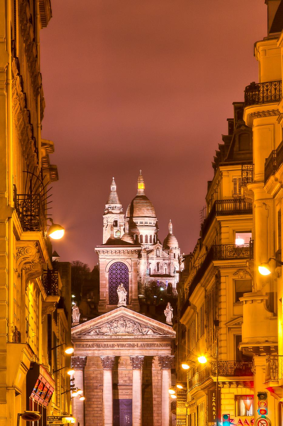 Eric Hagemann, Sacre Coeur Street View, Paris