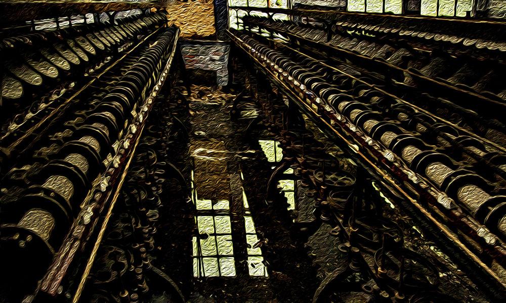 J. Auerbach, Abandoned Silk Factory #1