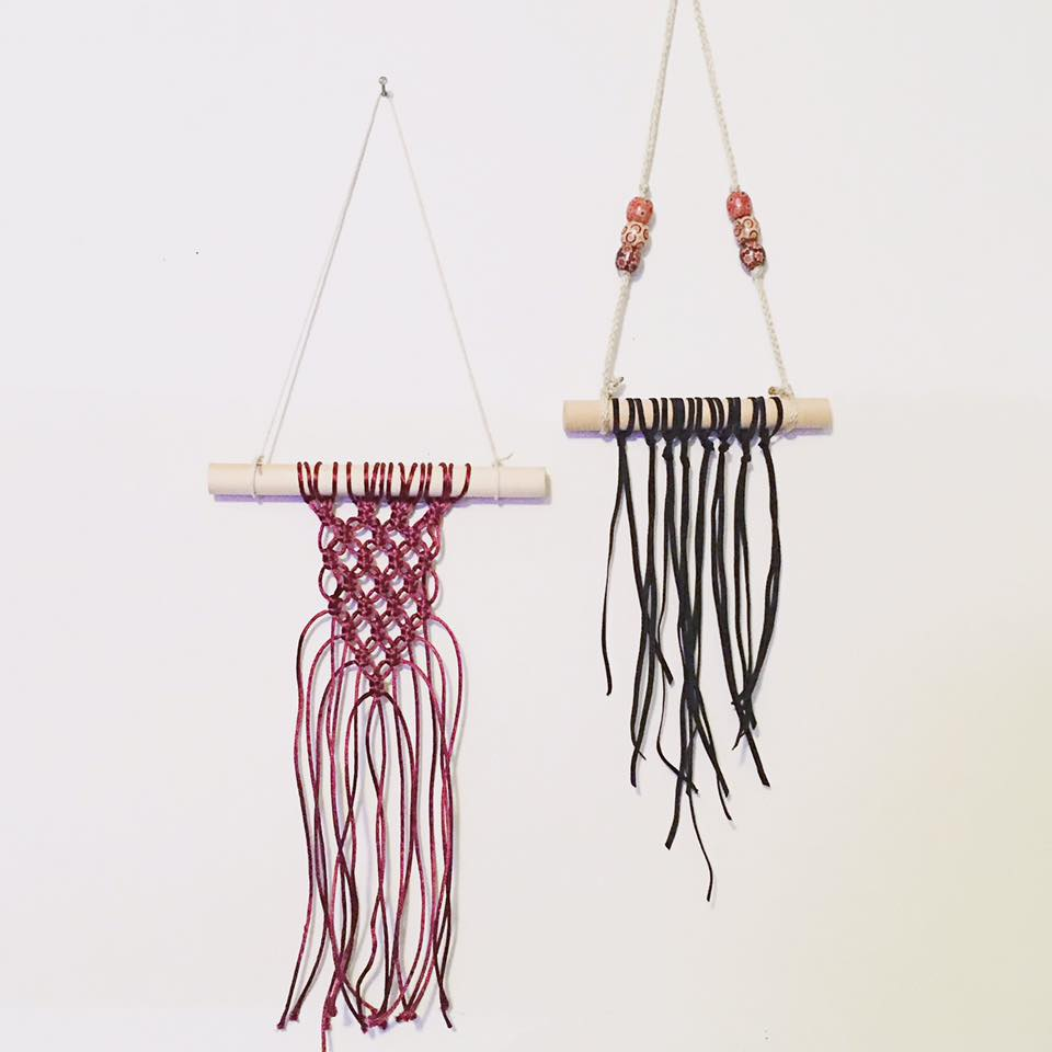 A. Miller, Small Macrame Wall Hangings