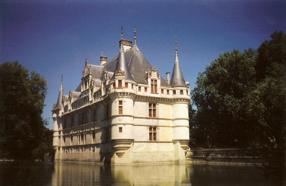 S. Berlin, Azay le Rideau, France