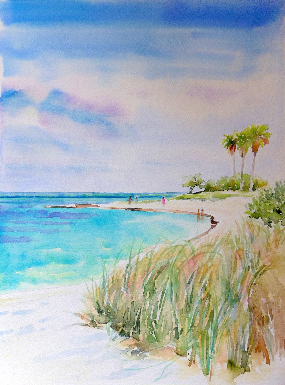 S. Davies, Sombrero Beach Siesta