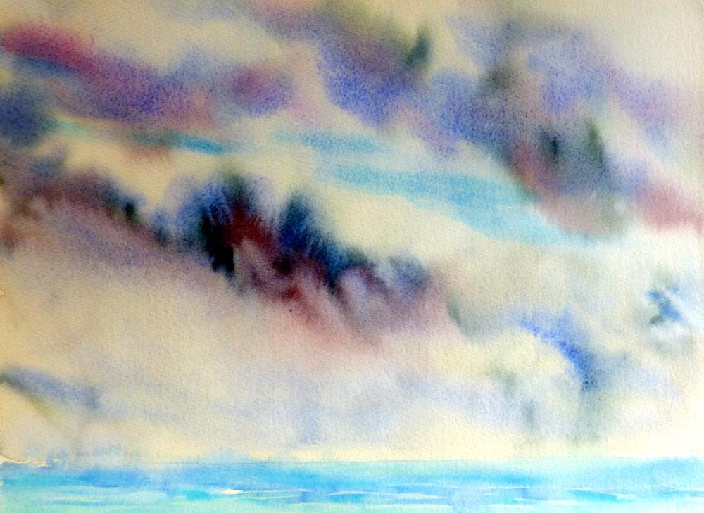 S. Davies, Storm at Sea