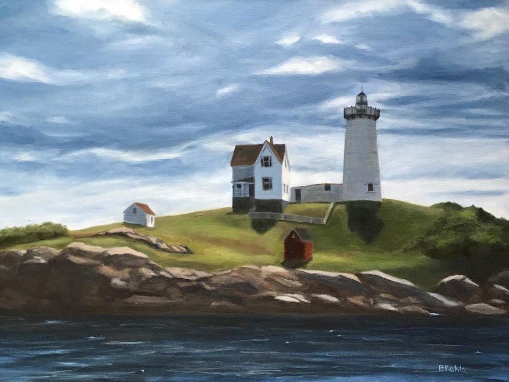 Cape Neddick Light, Barbara Kahla