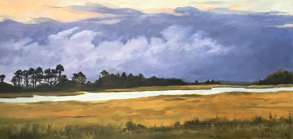 Collins Creek Evening, Barbara Kahla