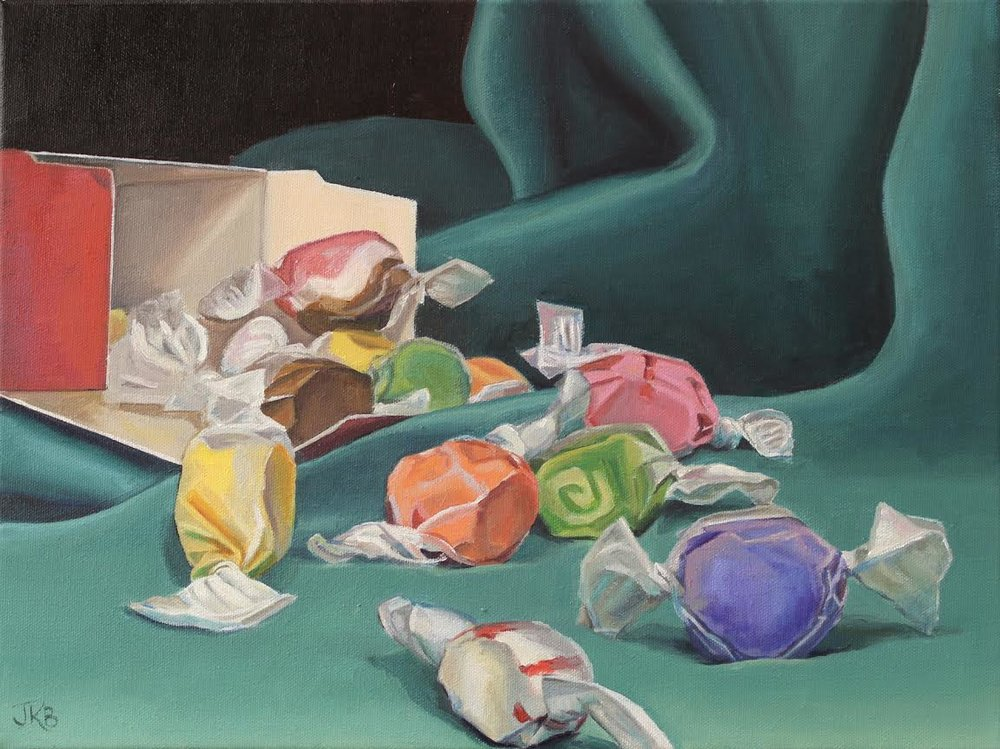 Ocean Of Salt Water Taffy, Jannifer Kahn Barlow