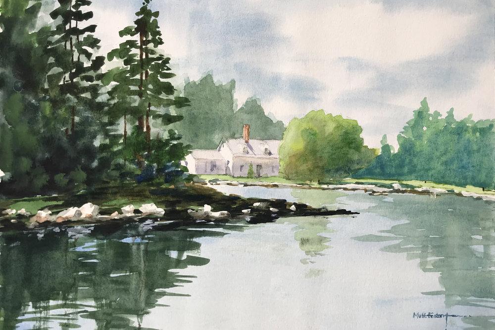 M. Fenton, Isle Au Haut, Acadia N.P.