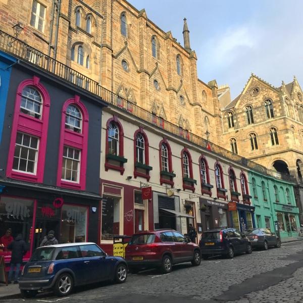 Victoria Street, Edinburgh.
