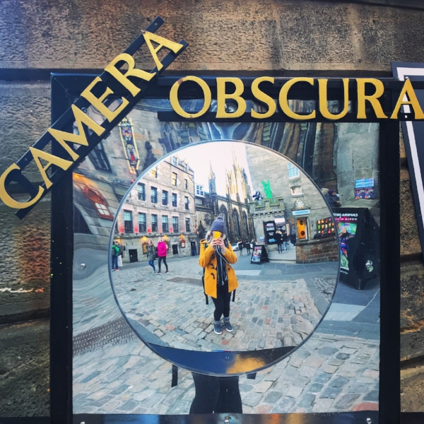 I didn't go in this time as I've been before but highly reccommend Camera Obscura!