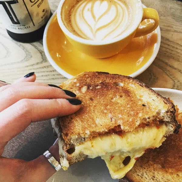 Grilled Cheese & Coffee : December 2017 visit.
