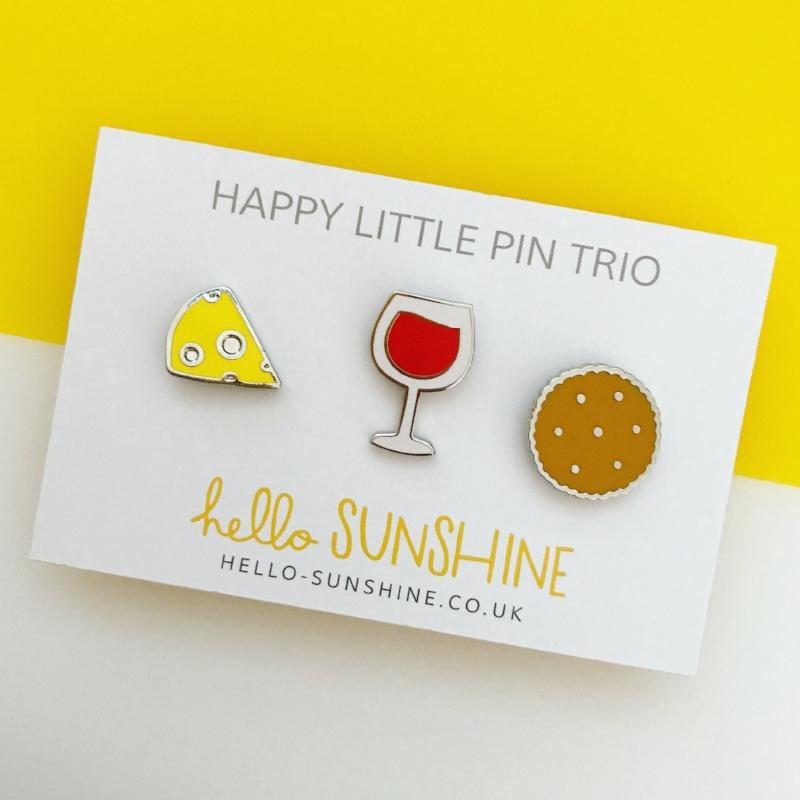 Happy Little Wine Trio