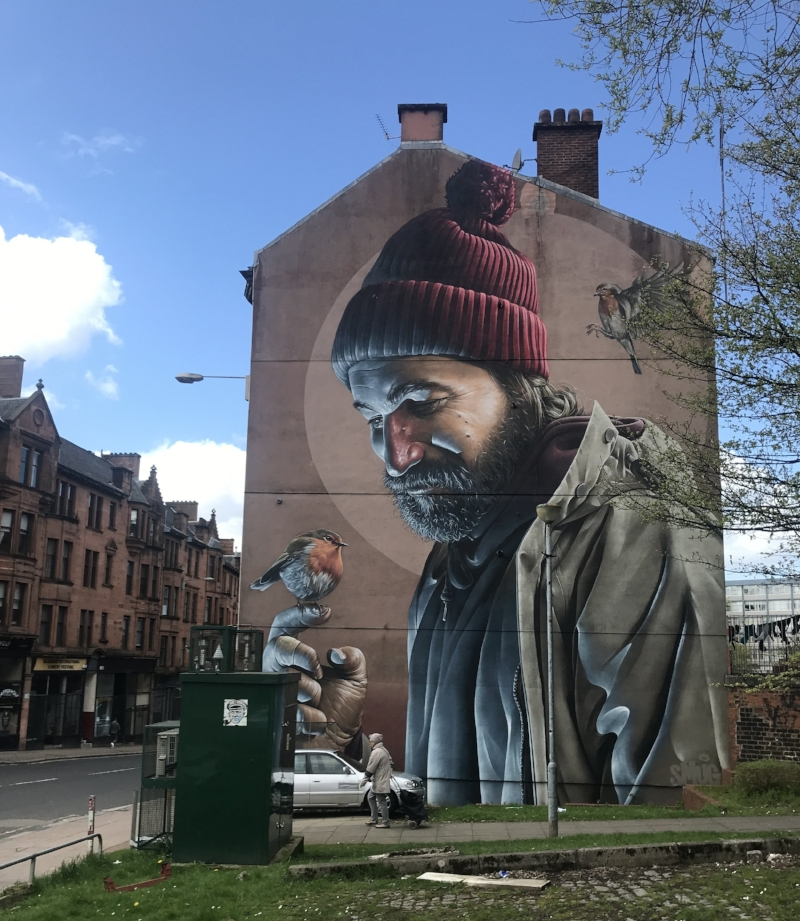 St Mungo Mural | SMUG - flick through  more here