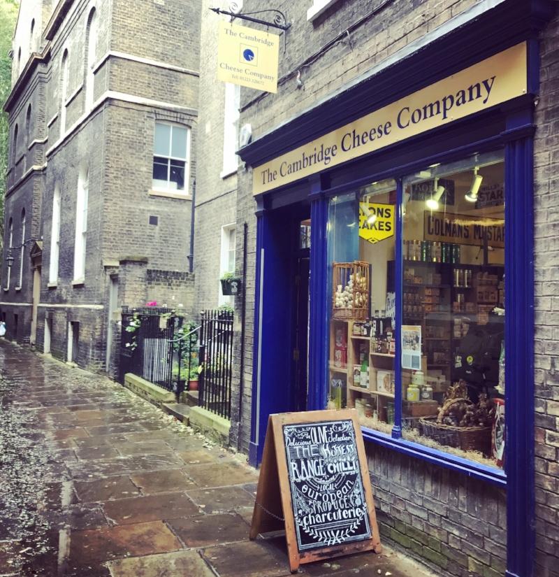 The shop of dreams!  @cambridgecheeseco  🧀
