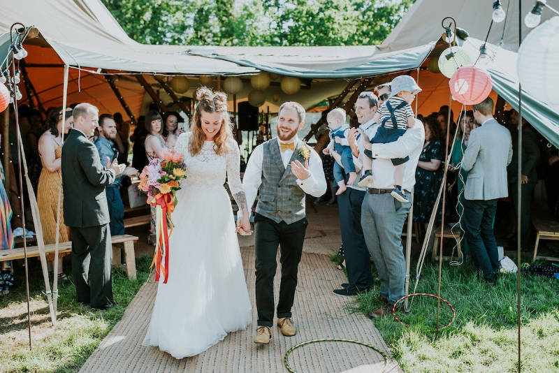 Walking out of the Party Tent of dreams 💛  📷  Daniel Ackerley Photography