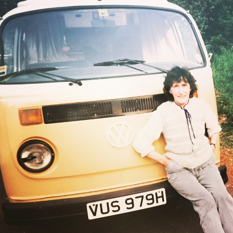 Where the dream began - My amazing Nanna, with their Campervan 💛