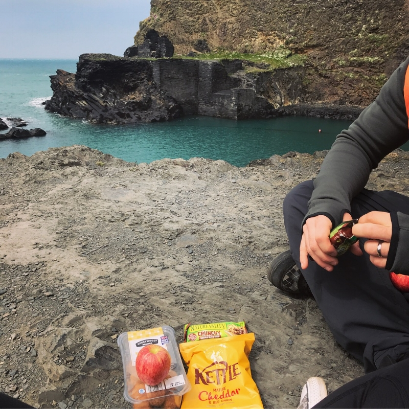 Picnic at the Blue Lagoon, Abereiddy