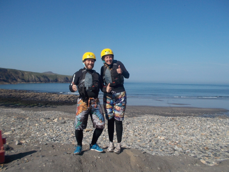 Ready for coasteering at the Blue Lagoon 💦