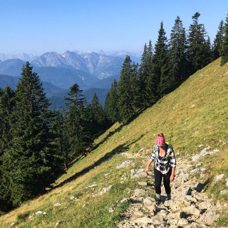 Hiking up to the Tegernsee hut at Roßstein and Buchstein 😅