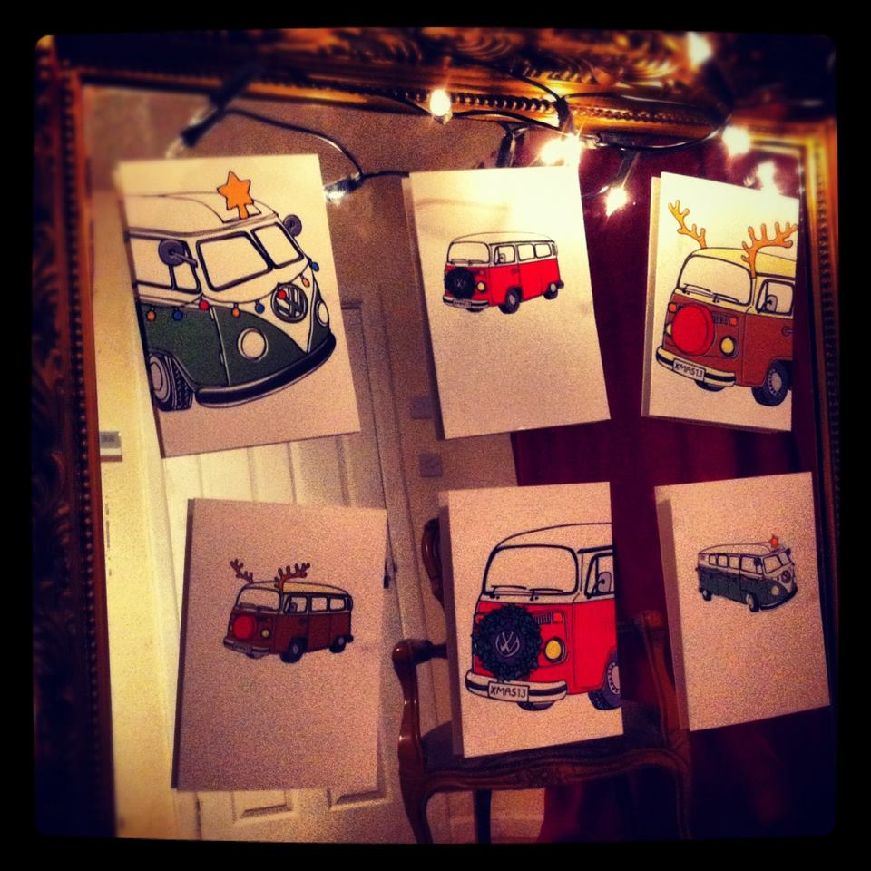 Past Project Van product ; Campervan Cards!