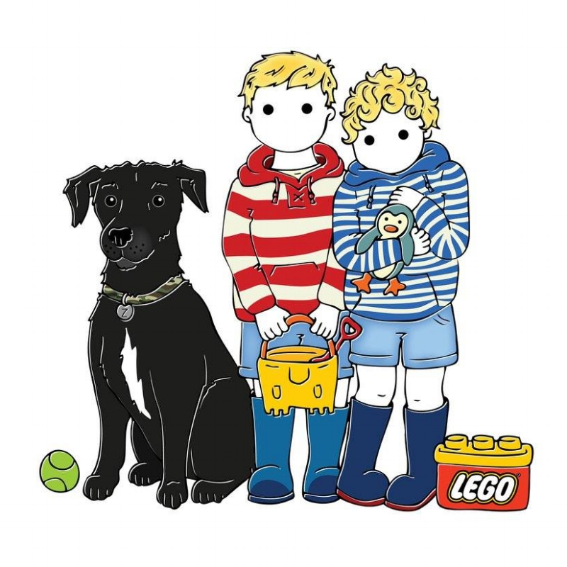 Super cute Sunshine Portrait of boys with their bestie and favourite toys 💛