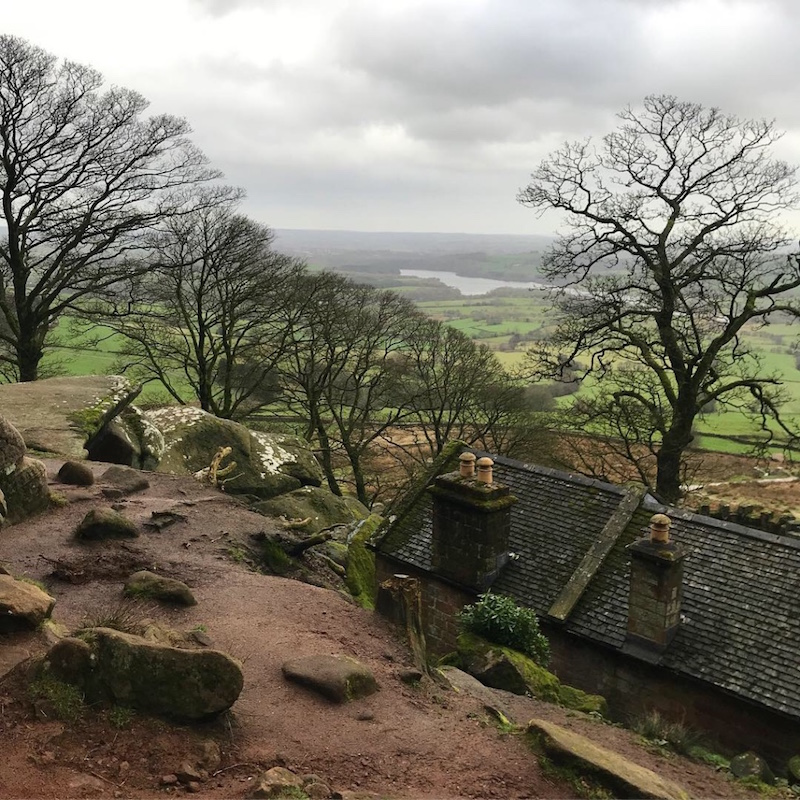 The Roaches, great place to hop about rocks and take in the views 😍
