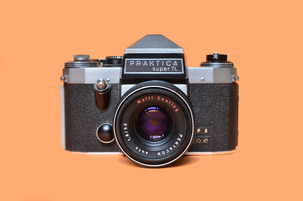 Camera praktica super tl · lomography