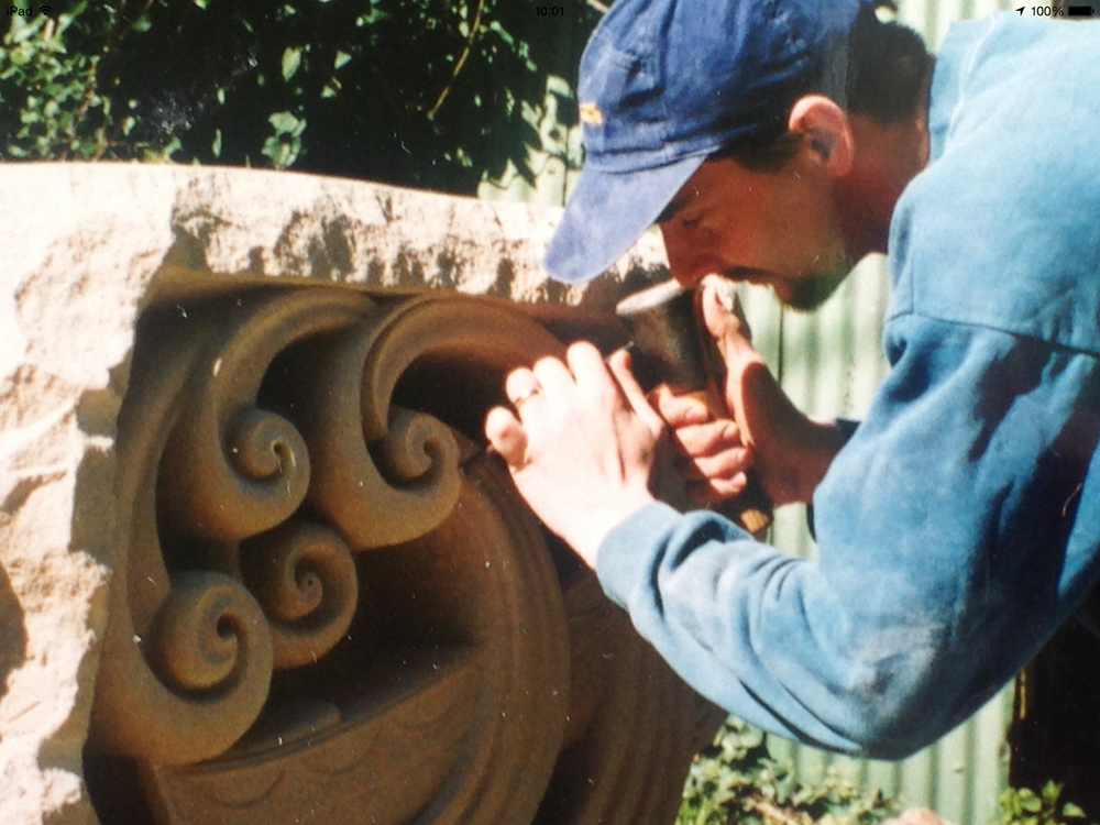 7. Chine seat -1999 Portland stone.jpg