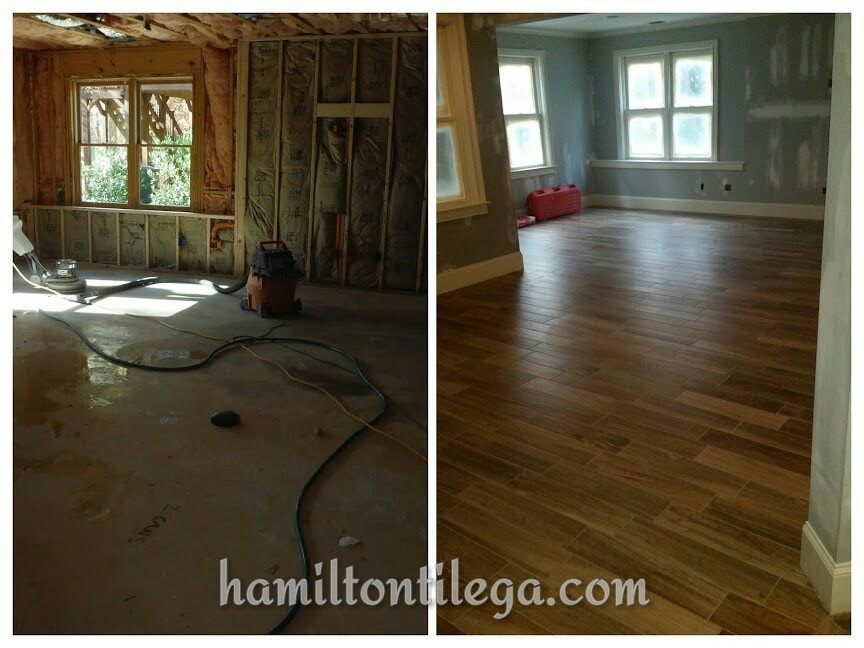 """This is a gallery of floors we have made a reality. These are mostly large format porcelain tile floors. Large format means any tile with an edge longer than """"15. When installed correctly, tile is a lifetime, maintenance free floor.    Be sure to visit my blog post about the added cost of large format tile...be ahead of the game!"""
