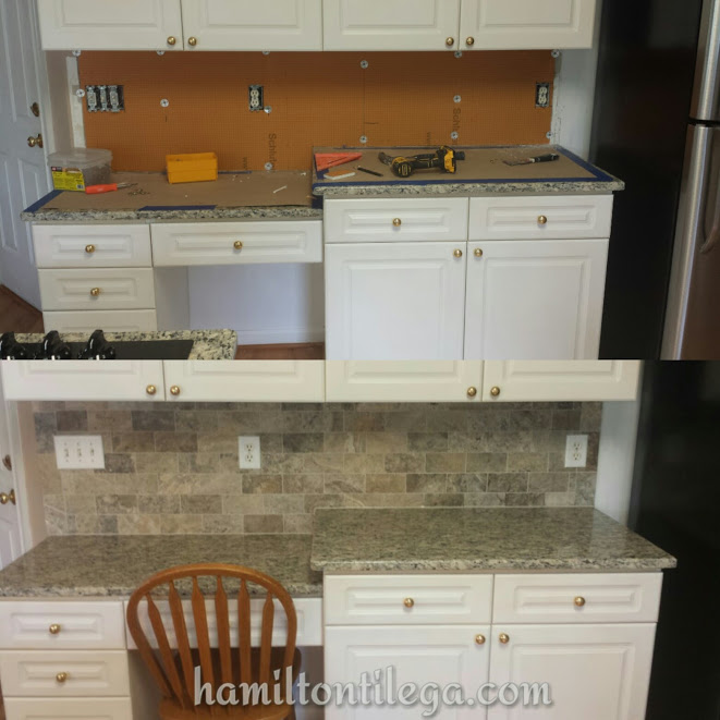 We are upgrading backsplashes all over the Atlanta area by using dust free, water proof  Kerdi board  instead of antiquated cement board and sheet rock.