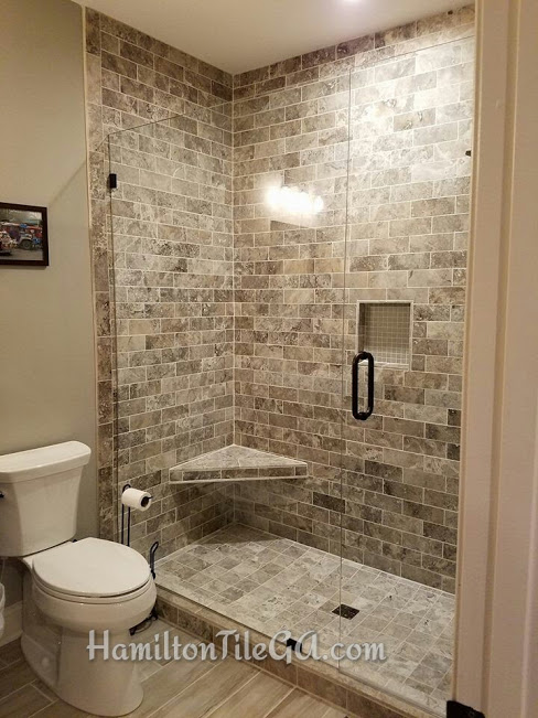 """""""I've been using Hamilton tile for all my client's tile needs for the past 8 years or so. As a General Contractor who finishes 30+ basements a year we've sent a lot of work their way. Couldn't be happier with the results. These are guys much more concerned about doing things the right way than they are about getting in and out fast. They don't cut corners, they go the extra mile. You won't be disappointed!"""""""