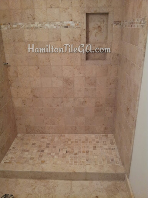 Now This Is A Recent Shower I Built That Left Me Wondering If The Higher  Ups Ever Had The Discussion With These People About Their Curb Top.