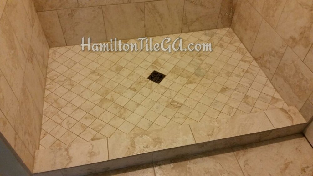 We Could Edge With Bull Nose But It Adds So Many Unnecessary Grout Lines  And The Quality Of Bull Nose Has Truly Declined. Think About Grime And Soap  Scum In ...