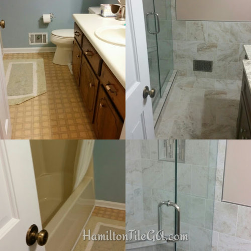 Bathroom Remodeling Woodstock Ga the best bathroom remodel in woodstock, ga. — hamilton tile