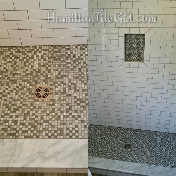 A one of a kind shower, not skipping the details.