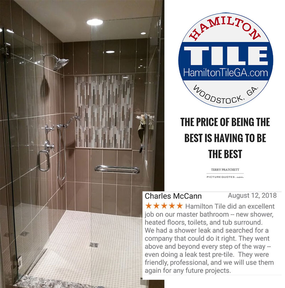When you think of a finished tile job, very often you'll regard the looks as the most important aspect. I contend that although the aesthetics are critical,    the longevity and functionality    of tile is really why it has been the architect and builder's choice throughout history. We have the foresight that ensures our tile work lasts the lifetime of your home.