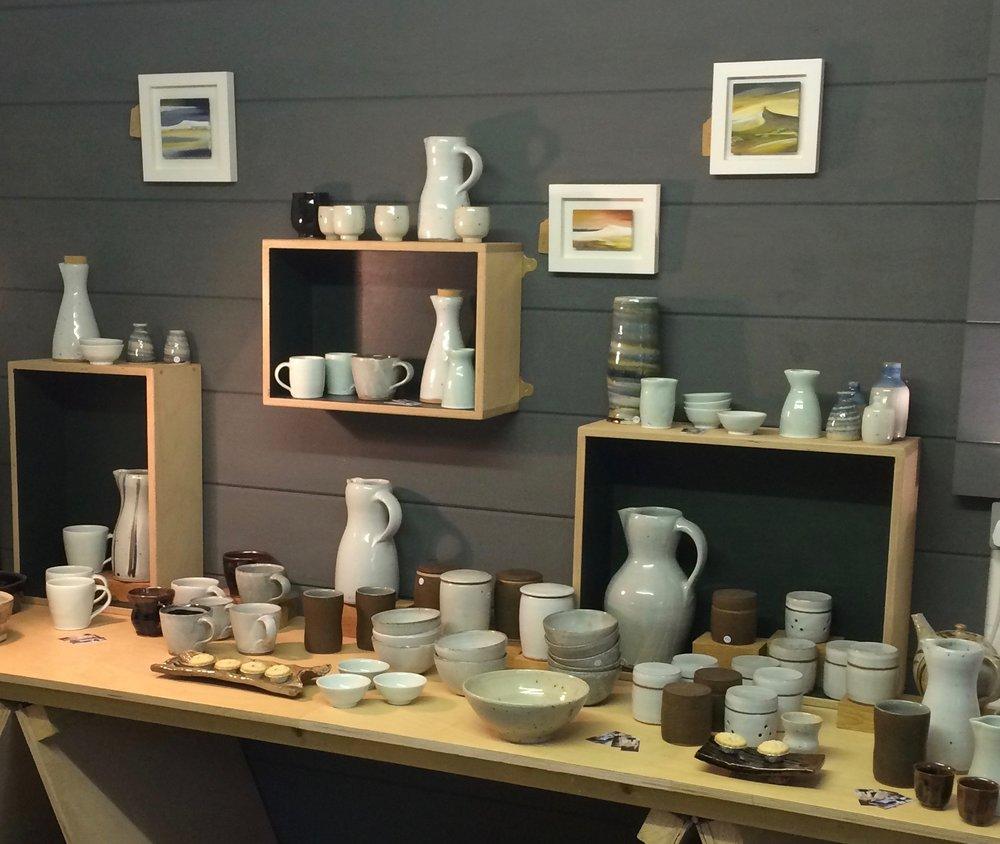 Ali Herbert's studio in Colyton, East Devon