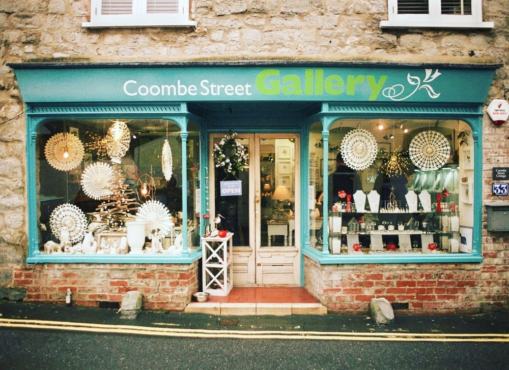Coombe Street Gallery, Lyme Regis, Dorset