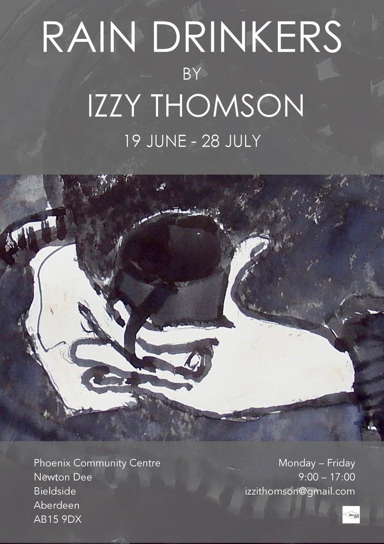 Izzy Thomson: Rain Drinkers in Aberdeen