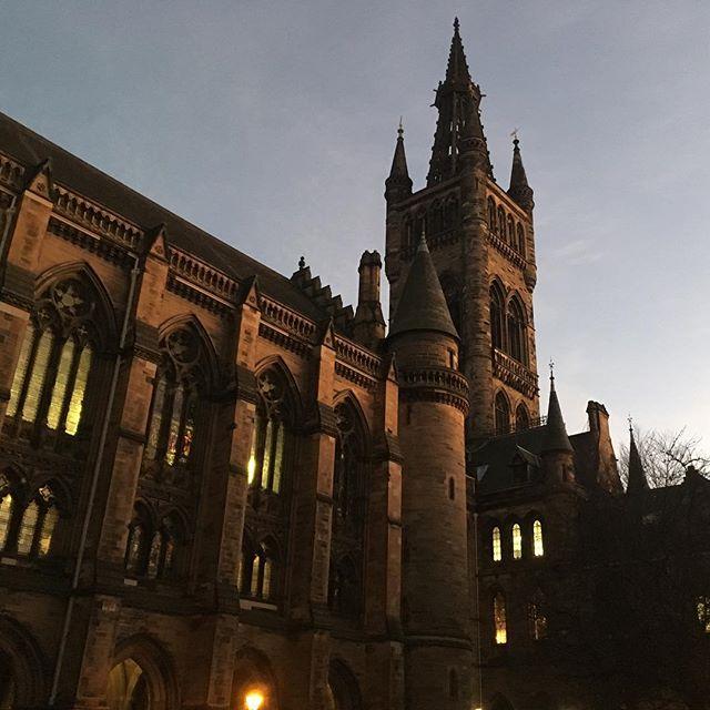 Pretty sure we just found Hogwarts in Glasgow... @uofglasgow . . . . #nofilter #hogwarts #glasgow #glasgowuni #uniofglasgow #harrypotter #scotland @visitscotland @visitglasgow #visitscotland #visitglasgow #jkrowling #university #college