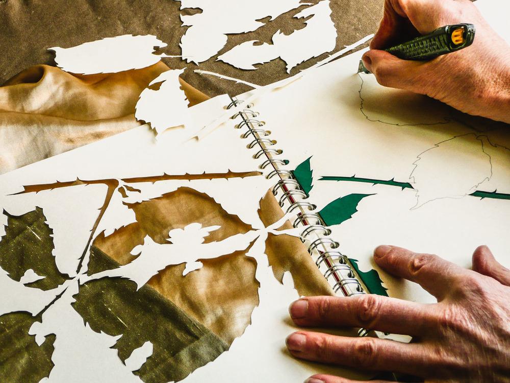 Stencils | Helen Poremba Textile Art & Sewing Classes