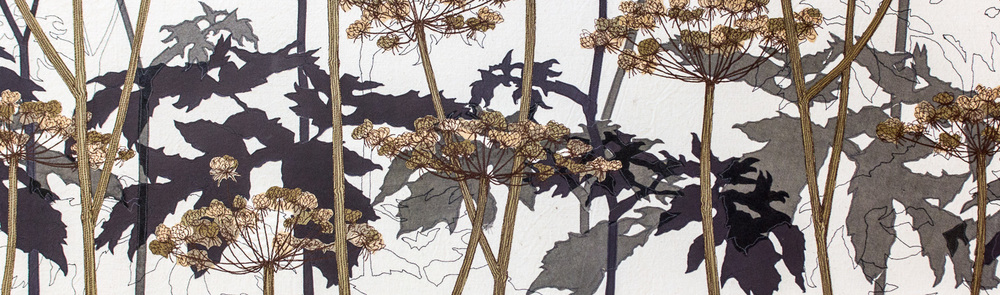 Hogweed | Helen Poremba Textile Art & Sewing Classes